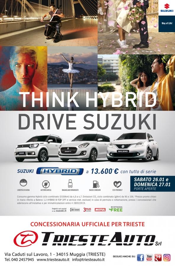 THINK HYBRID - PORTE APERTE 26 E 27 GENNAIO 2019