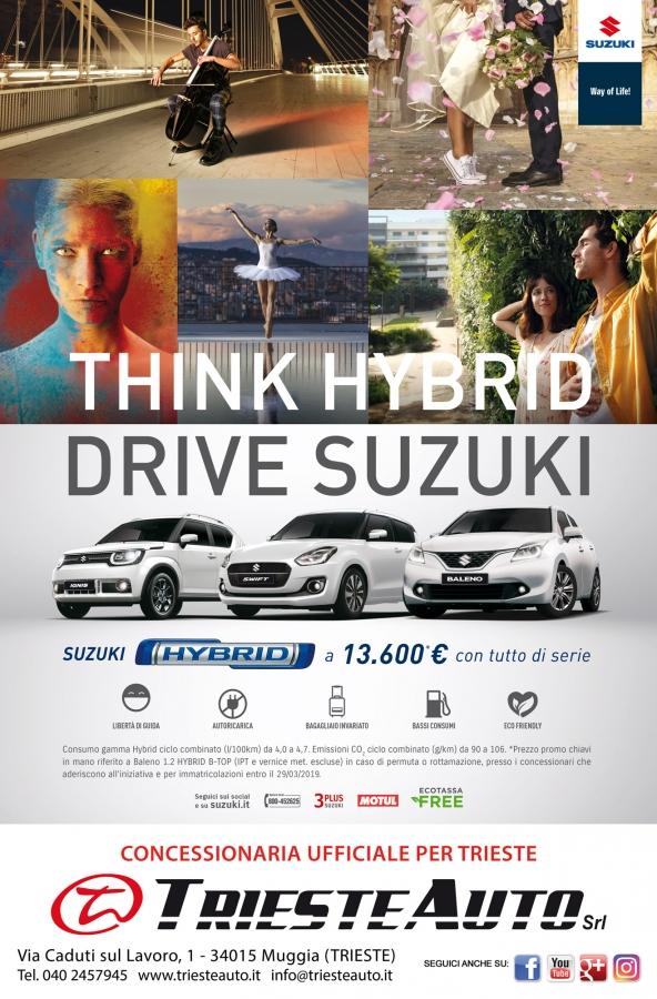 PORTE APERTE 9 E 10 FEBBRAIO - THINK HYBRID con TRIESTE AUTO